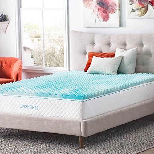 Linenspa Inch Gel Mattress - Promotes Airflow Relieves Points -