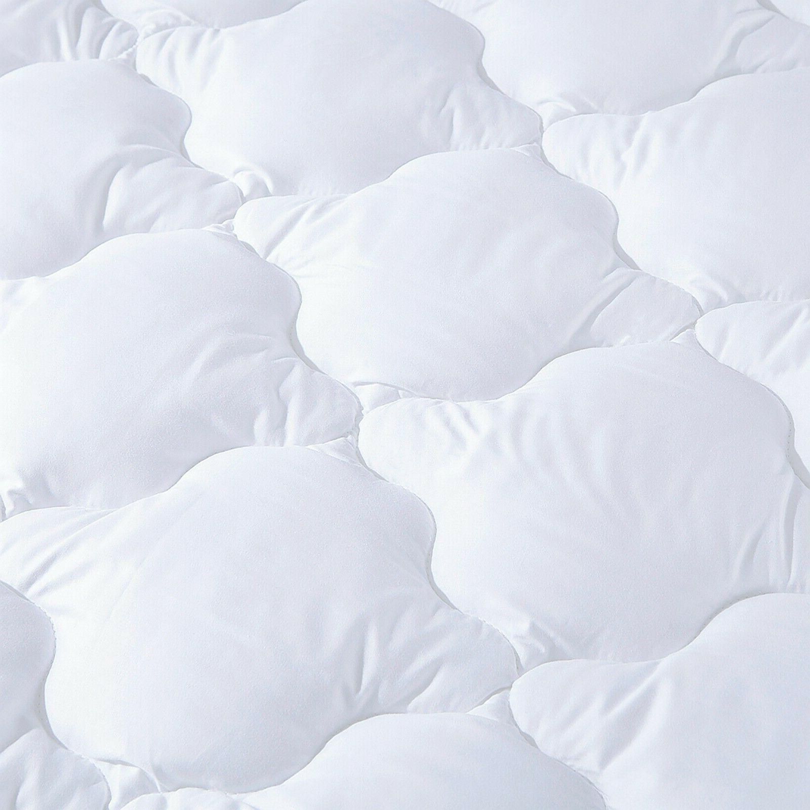 Puredown Cooling Quilted Fitted Topper Hypoallergenic
