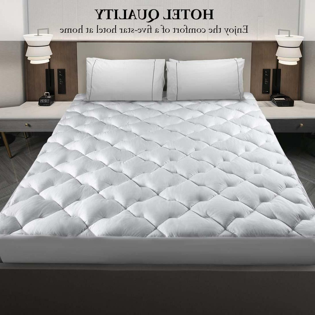 Cooling Cool Mattress Pad Cover Topper King Size Sleeping Co
