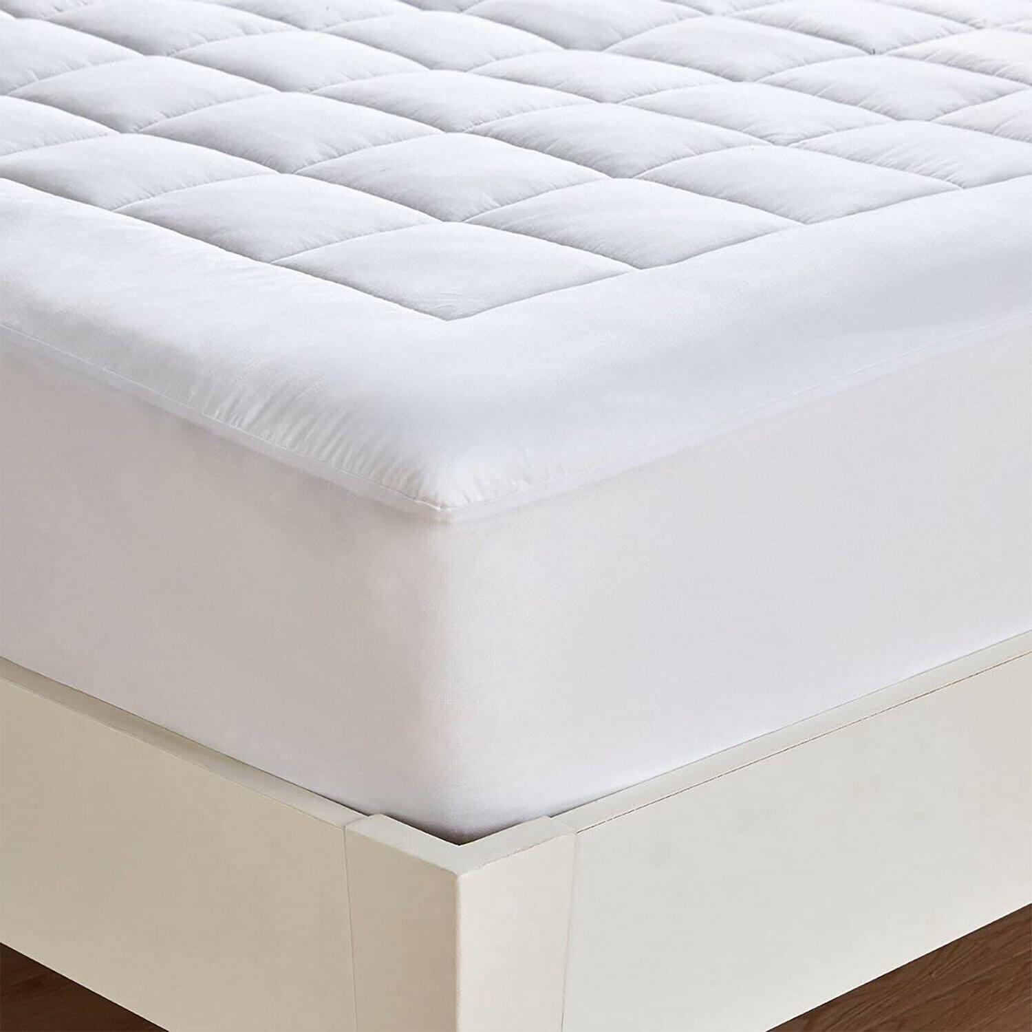 Cooling Cotton Mattress Down Alternative Topper Breathable Bed