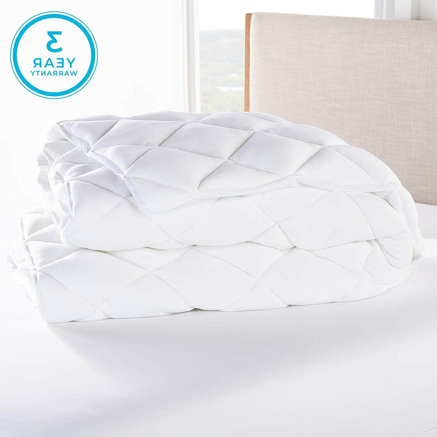 Cooling Matress Pad Bamboo Down Mattress Topper