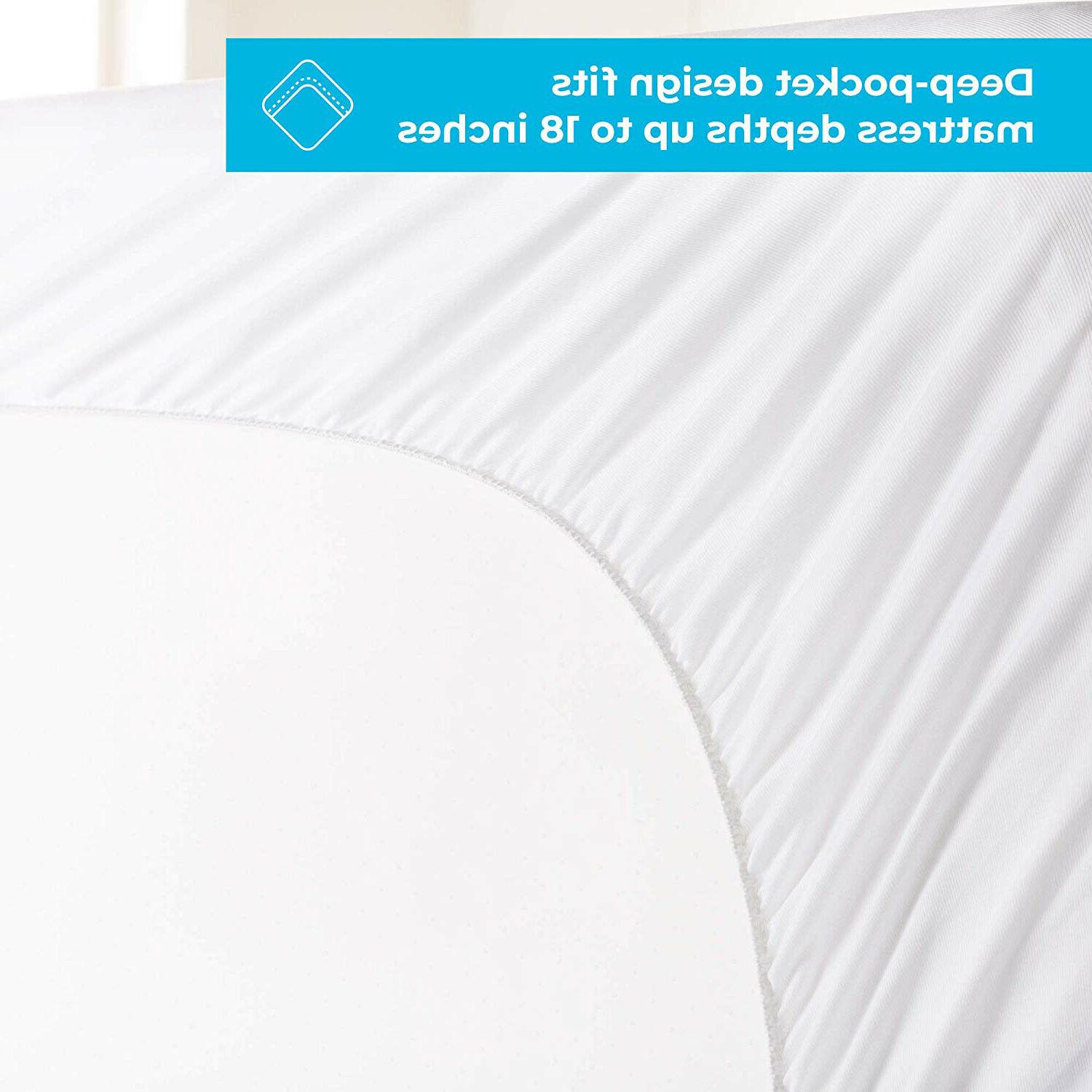Cooling Matress Pad Bamboo Plush Down Mattress