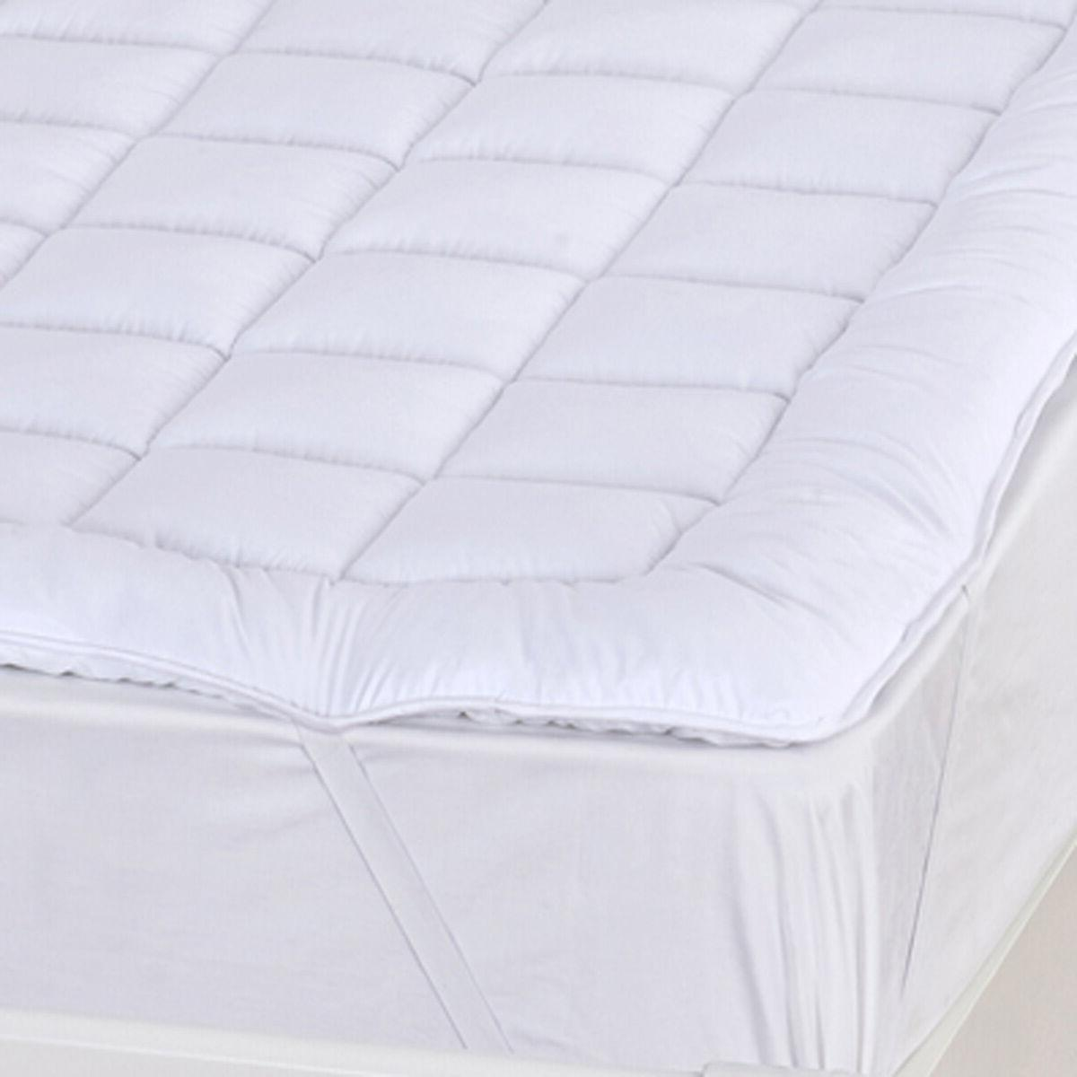 "Extra Soft Plush Overfilled Pad, 2"" Down Alternative"