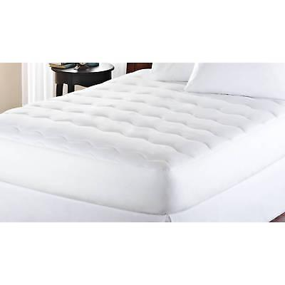 "Mainstays Extra Thick 1"" Mattress Pad, White"