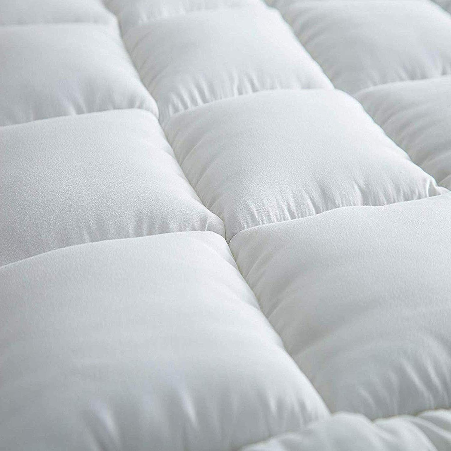 Extra Topper Queen Size Pillow Top Cover Pad