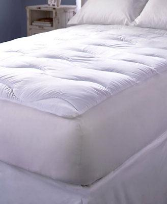 extra thick wave quilted mattress pad