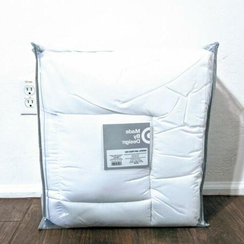 firm quilted mattress pad twin