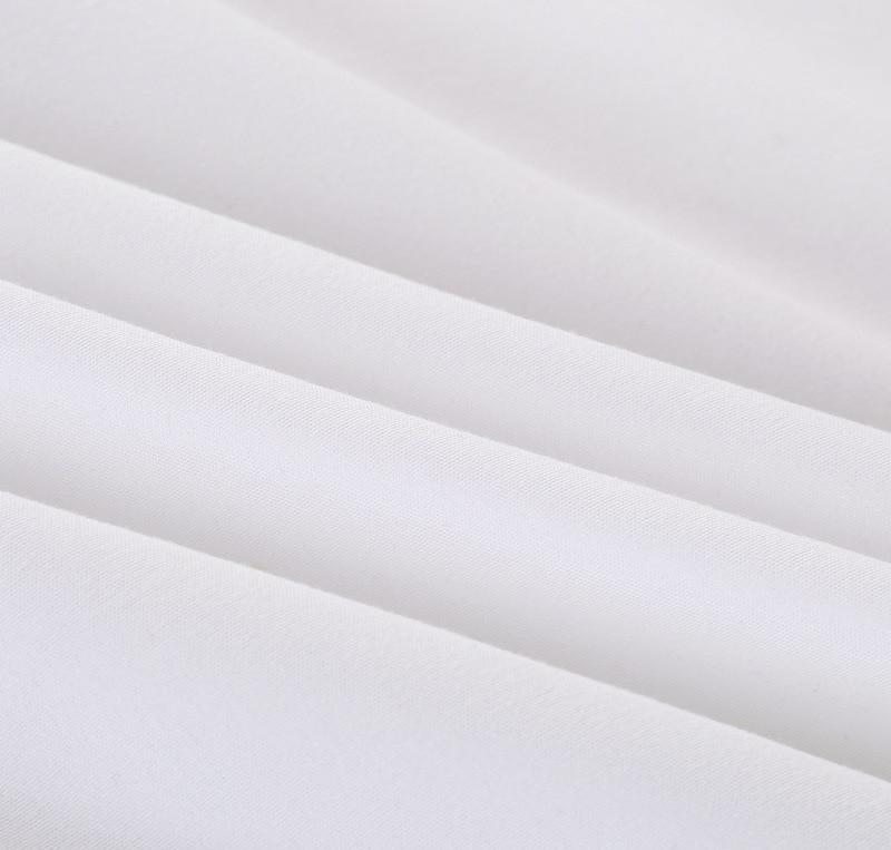 <font><b>Solid</b></font> color Fitted <font><b>Sheet</b></font> Mattress Cover With Elastic Protector Pad Size Bedding