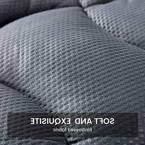 Twin Size Mattress Cover Top Overfilled