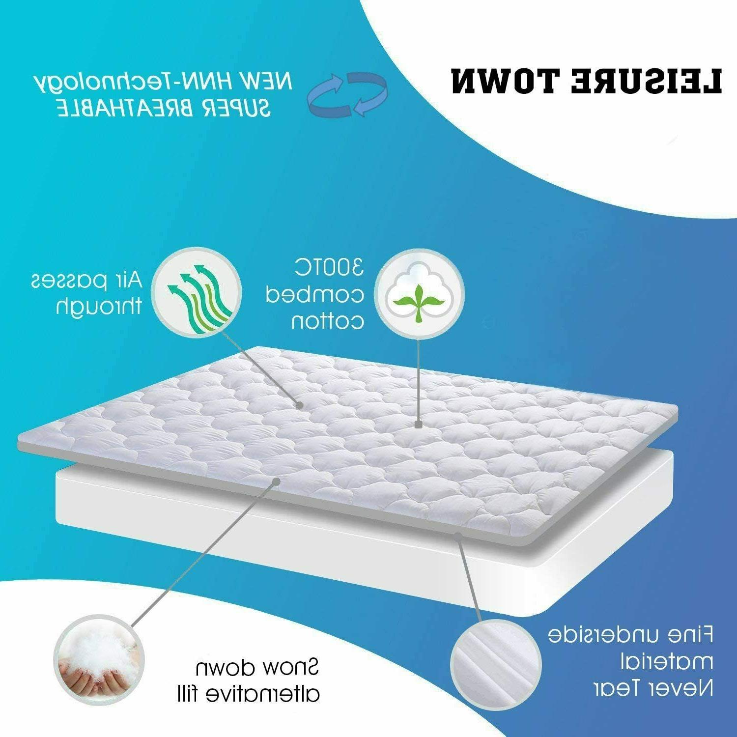 Cooling Snow Pillow Top Luxury Bed