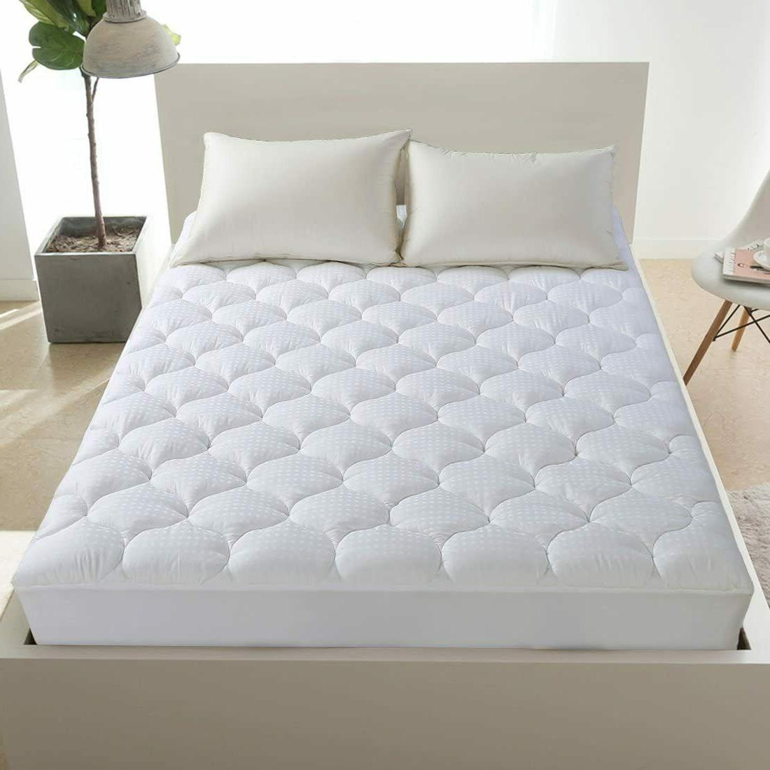 Cooling Snow Down Alternative Pillow Top Luxury Bed