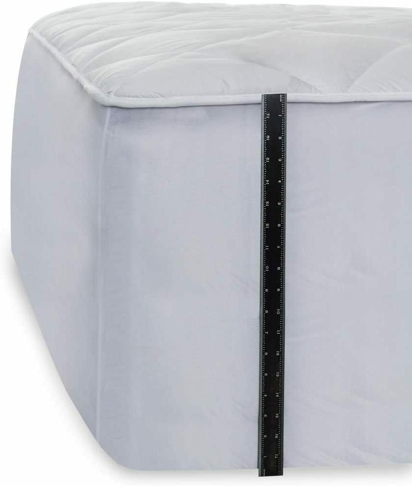 Mastertex Luxurious Topper Fitted 100% Cotton