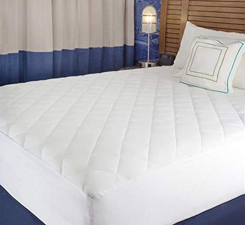 """Abit Mattress Quilted fitted queen up 20"""" soft white"""