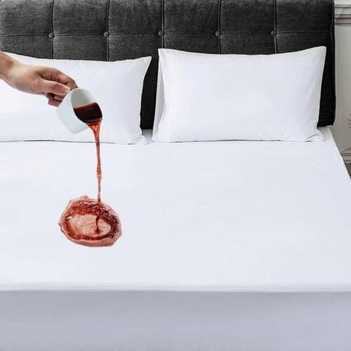 mattress cover protector waterproof full size bed
