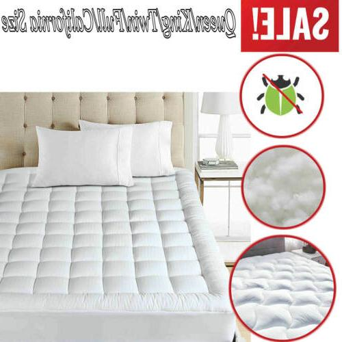 mattress cover protector waterproof pad all sizes