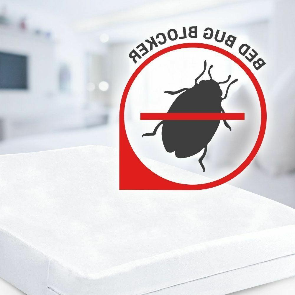 Mattress Cover Protector Waterproof Pad King Cover Hypoallergenic