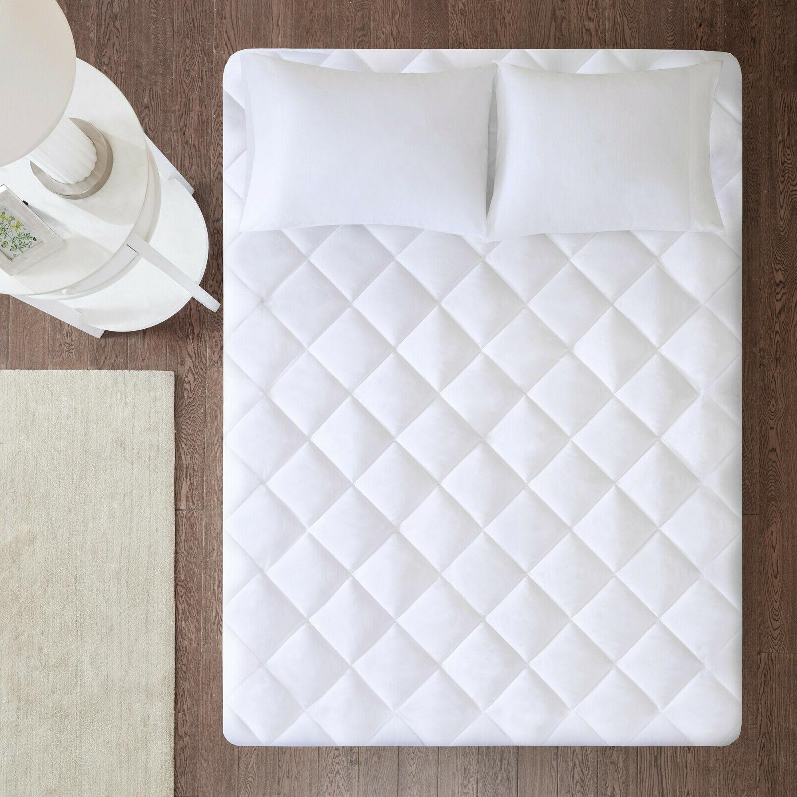 Mattress Pad Hypoallergenic Topper Cover
