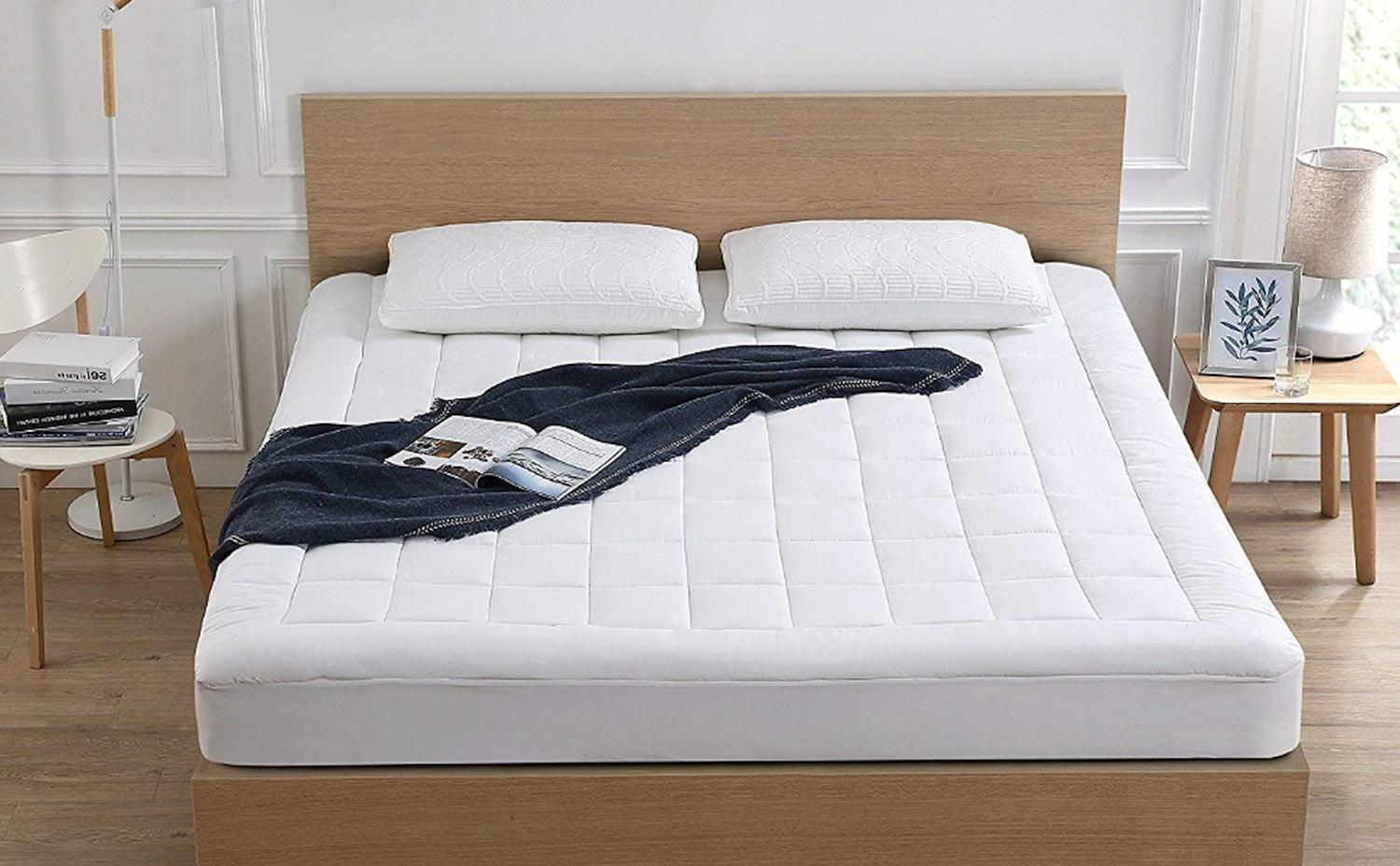 Oaskys Pad Cooling Cotton Pillow Top