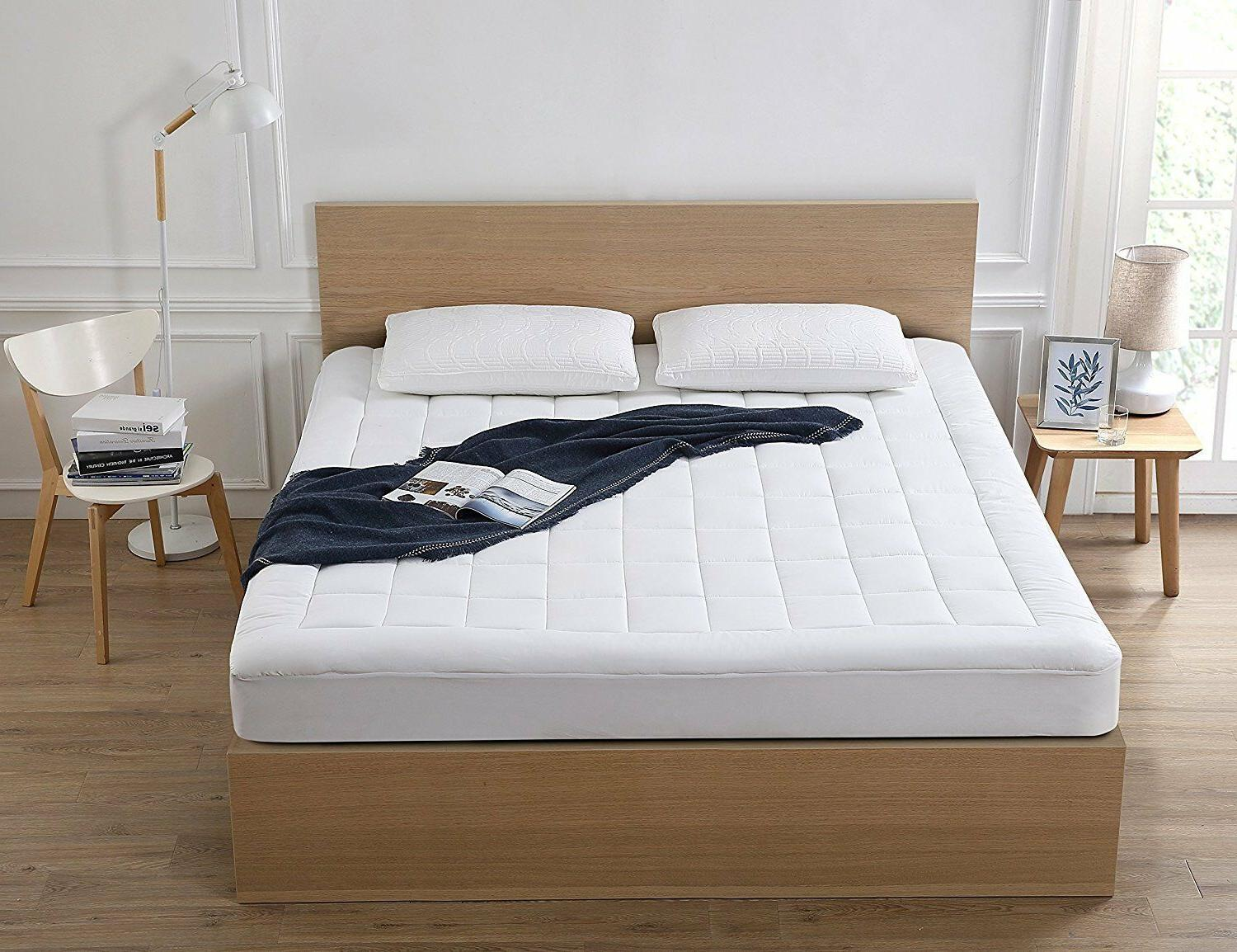 Oaskys Pad Cooling Topper Combed Cotton Top Pillow Top
