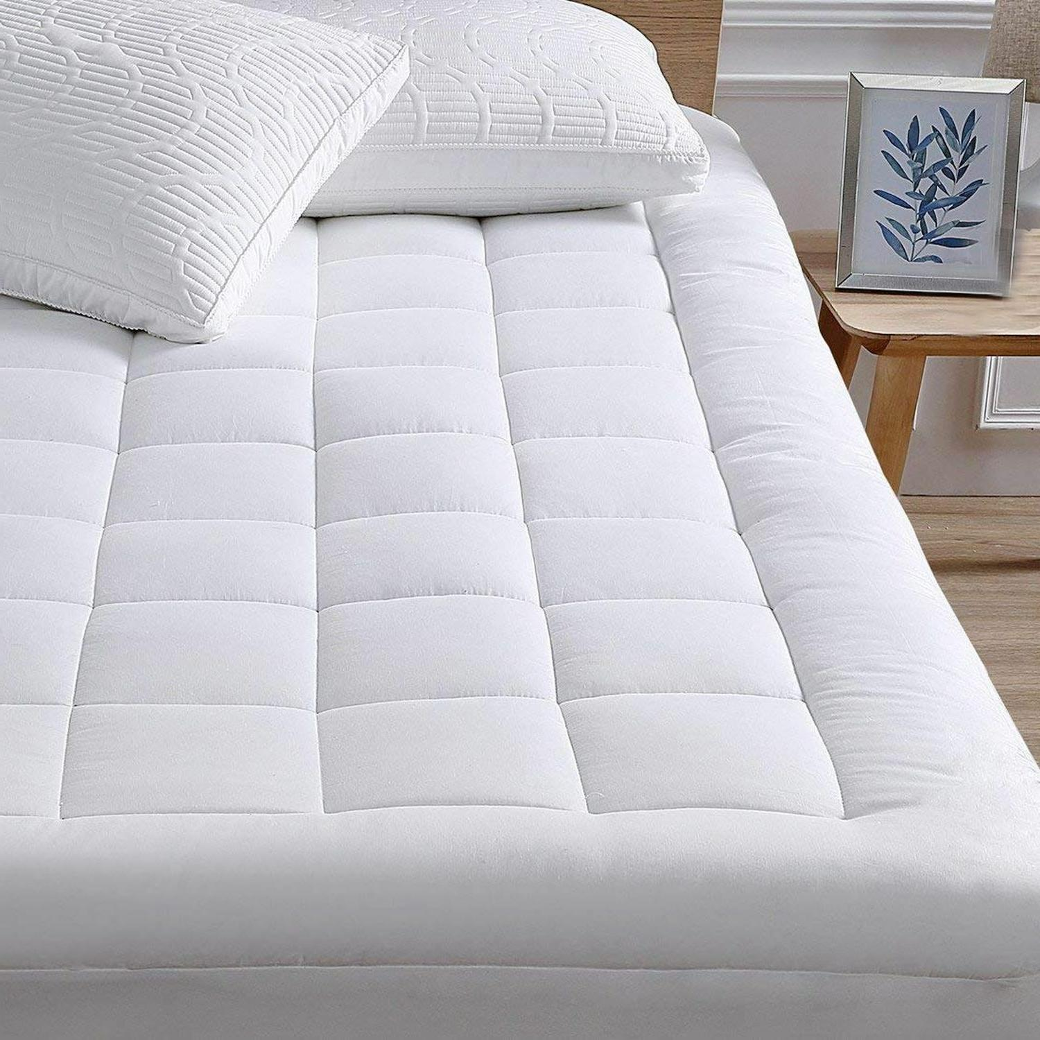 mattress pad cover cooling mattress topper combed