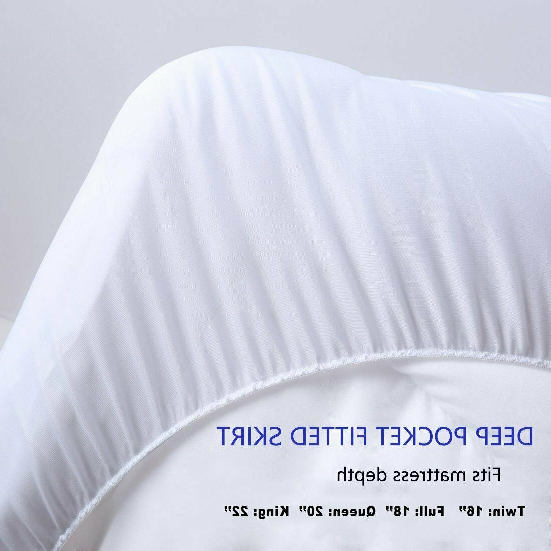 Mattress Cover Size Pillow Thick Bed