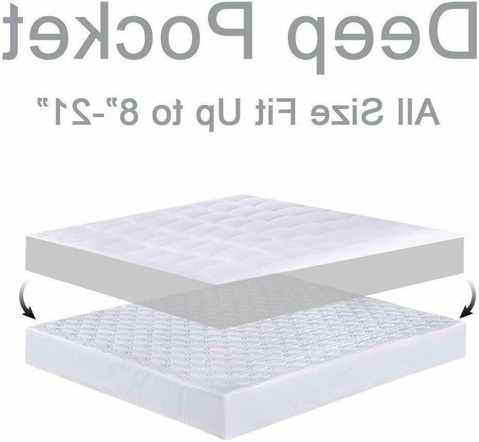 Mattress Pad Soft 300TC Pillow Top