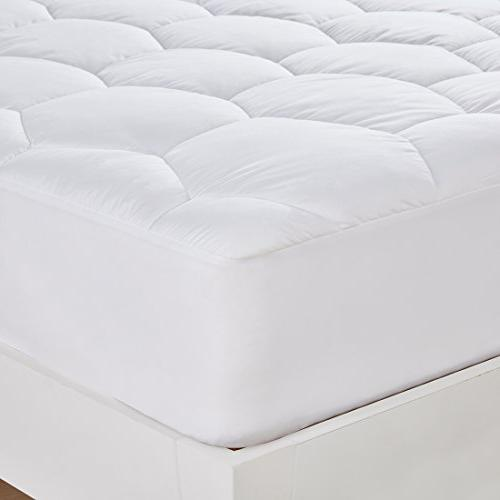 Mattress Size- Hypoallergenic Fitted Down Alternative Luxury Mattress and Soft for Hotel and Home
