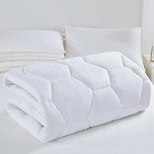Mattress Pad Cover Queen Size- Hypoallergenic Quilted Down Alternative Luxury Mattress Topper,Cooling,Breathable Soft Pocket for Hotel