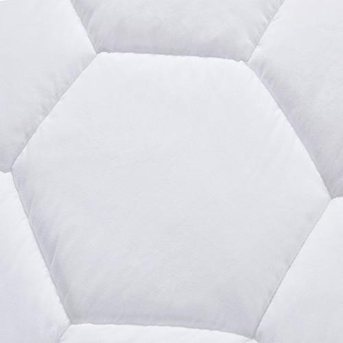 Mattress Pad Down Alternative Luxury Mattress Topper,Cooling,Breathable Soft