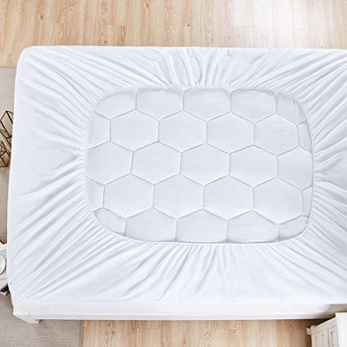 Mattress Cover Queen Size- Hypoallergenic Down Luxury Mattress Soft for Hotel and Home