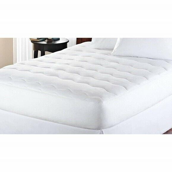 mattress pad extra thick padded