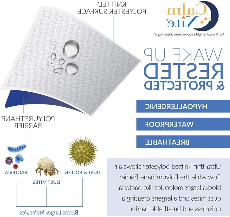 Mattress Free Waterproof Hypoallergenic Cover