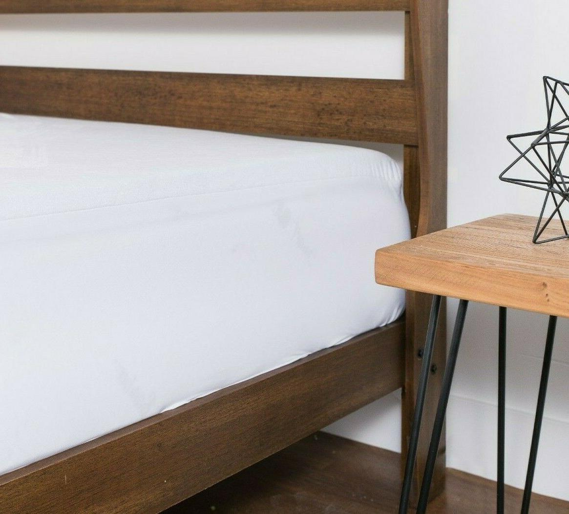 Mattress Bamboo Fitted Cover Pad
