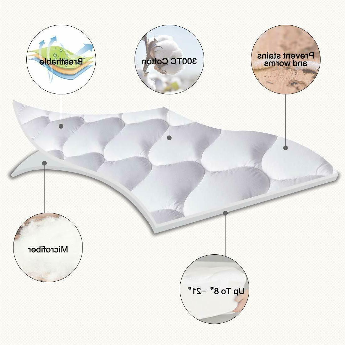Mattress Cover Pillow Breathable Cooling