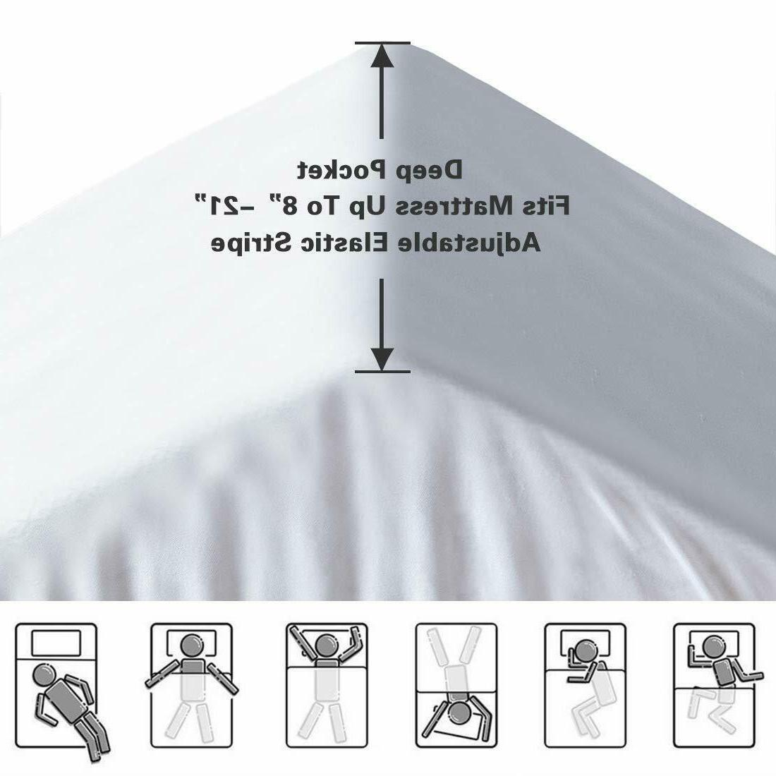 Mattress Cover Pillow Breathable