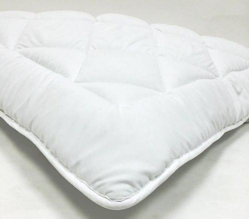 mattress topper pad & straps high quality hypoallergenic twi