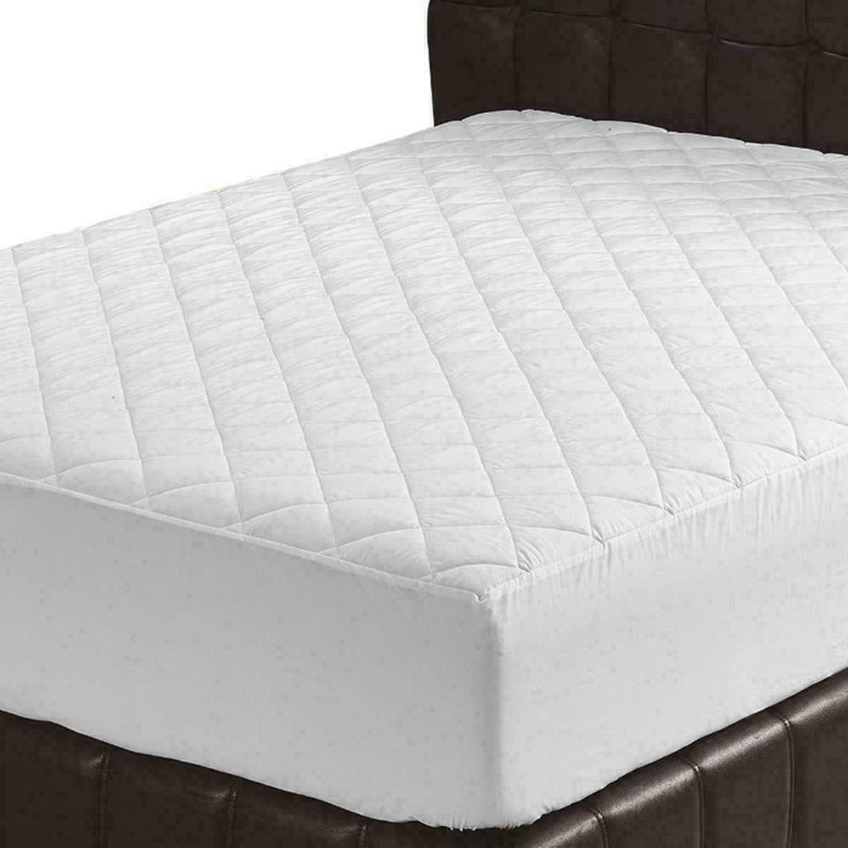 Memory Foam Topper Mattress Cover Queen Size Bed Pad Matress