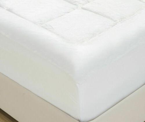 Mellanni Microplush Pad, Soft Topper Fitted Quilt