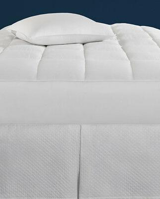 monmouth white goose down mattress pad