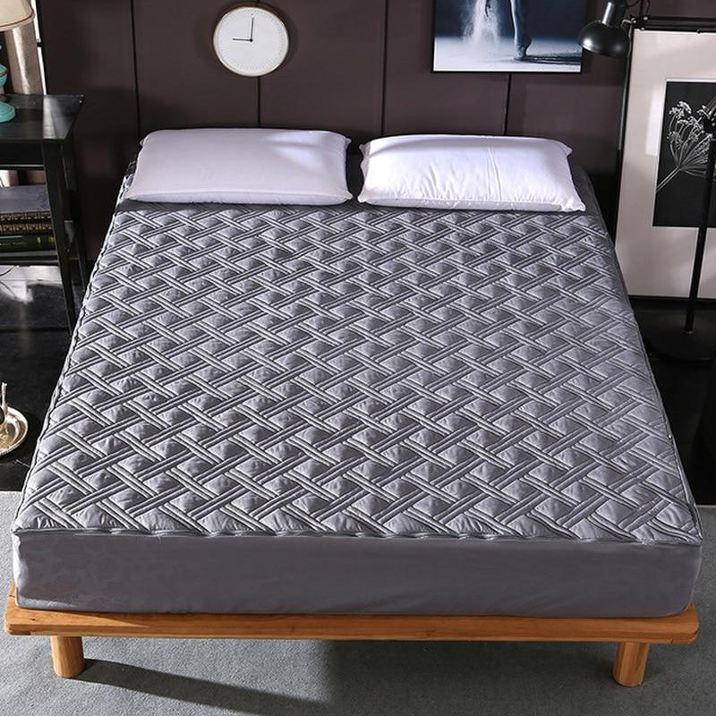 New Sides All Inclusive Quilted Soft Plain Bed <font><b>Mattress</b></font> Mite