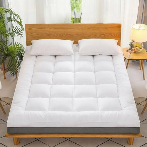 Pillow Top Mattress Cover Bed Soft 4