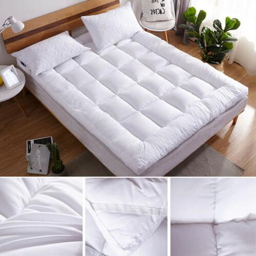 Mattress Pad Cover Bed Topper Protector Quilted Size