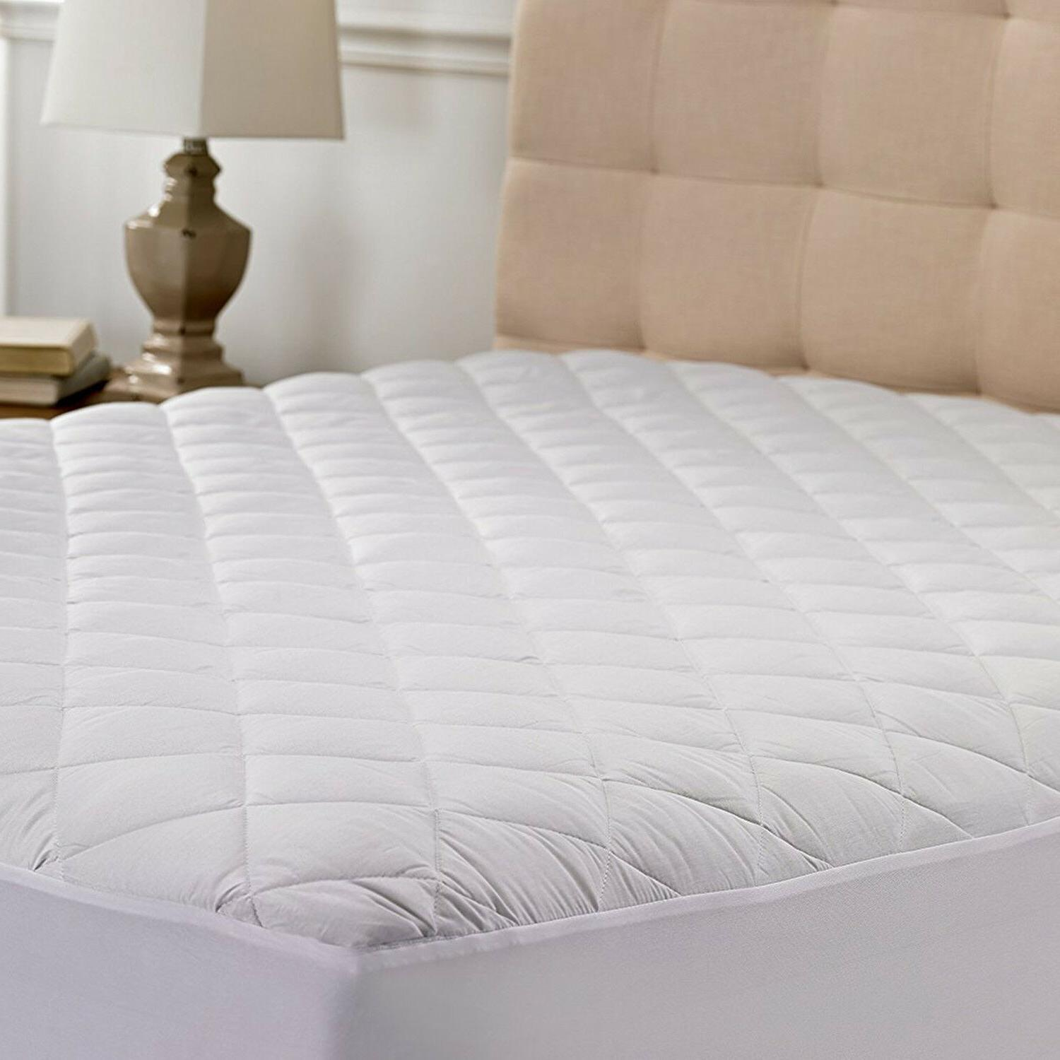 Poly-Cotton Quilted Hypoallergenic Deep Pockets Breathable