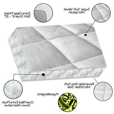 Pillow-Top Premium Pad - 1.5 Inch Cooling Down Alternative