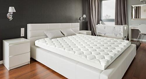 Cover with Pocket - Cooling Down Alternative - Overfilled Quilted Mattress