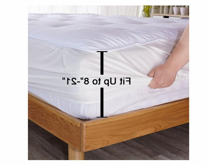 Queen Size Pad Cover Top Topper Thick Bed
