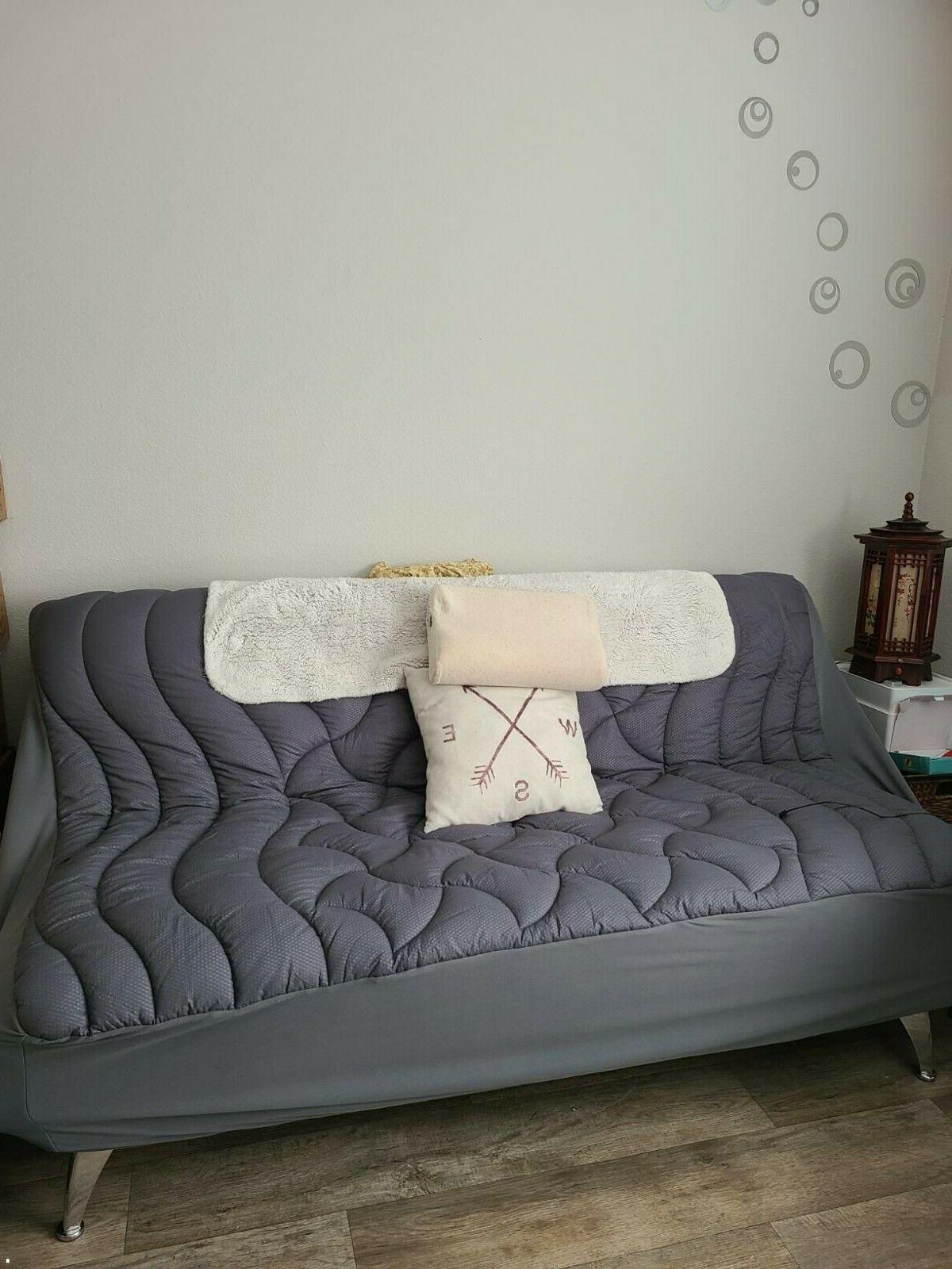 Queen Mattress Cover Memory Top Overfilled Topper