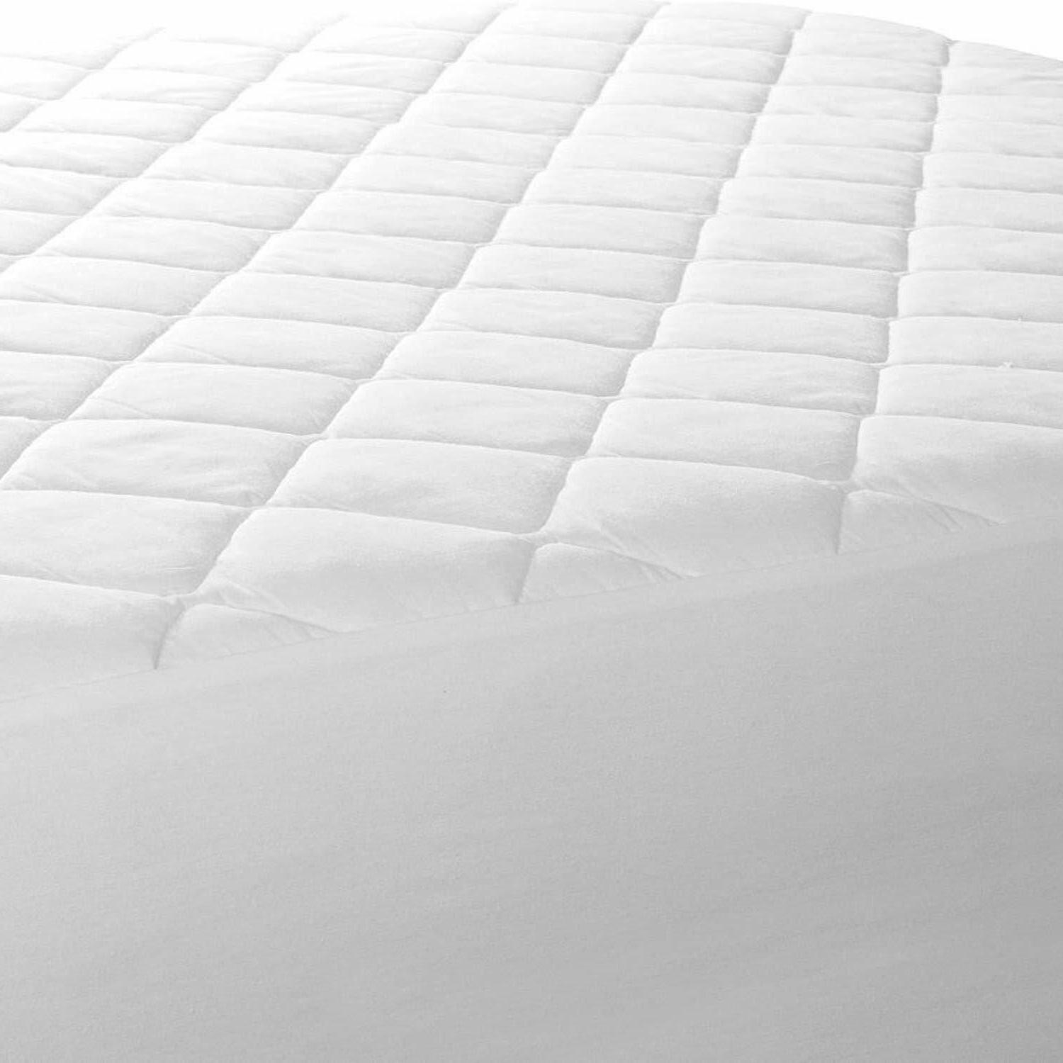 Queen Size Quilted Super Soft Durable Mattress Pad