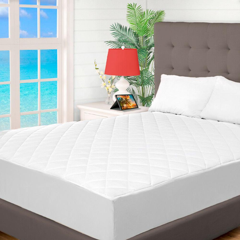 Premium Quilted Mattress Pad Topper