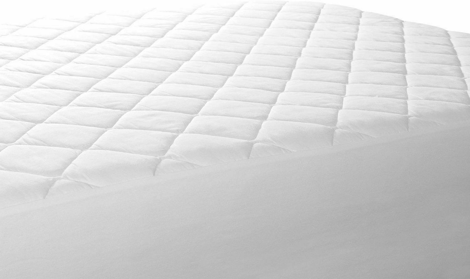 """Quilted Fitted Cover Stretches 16"""""""